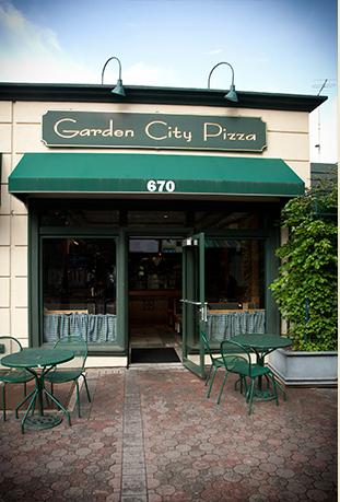 Garden City Pizza Exterior View
